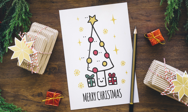 Christmas card 10 simple diy ideas to show your skills this year diy christmas cards ideas m4hsunfo