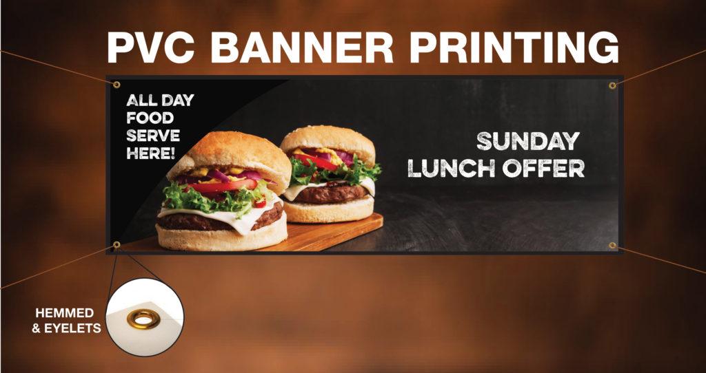 cheap PVC banner printing